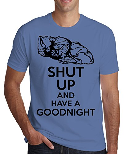 Shut Up And Have A Goodnight Men's T-Shirt XX-Large
