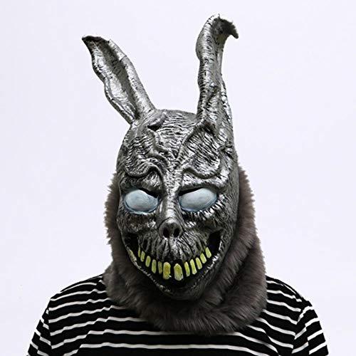 Tierische Cartoon Kaninchen Maske Donnie Darko Das Bunny Kostüm Cosplay Halloween Party Maks Supplies (Disco Bunny Kostüm)
