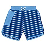 i play. 722185-646-44 Schwimmwindel Board Shorts, 12-18 Monate, Stripe, royal