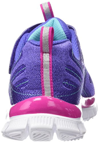 Skechers Appeal Hi Shine, Sneakers Basses fille Purple (Purple/Pink)