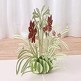 rawuin 3D Pop up Narzisse Flower Grußkarte Weihnachten Geburtstag NEU Jahr Einladung (# 090)