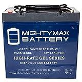 Best Trolling Motor Batteries - 12V 55AH GEL Replacement Battery for Minn Kota Review