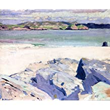 Ross Of Mull From Iona - By Francis Campbell Bolleau (F.C.B.) Cadell - impressions sur toile 28x23 pouces - sans cadre