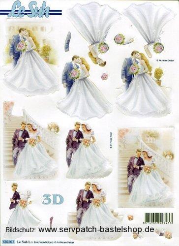 Zur Hochzeit (680.017) - 3D Stanzbogen
