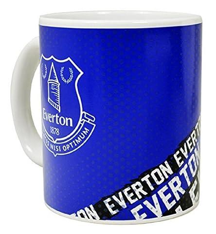Everton FC Ceramic Impact 11oz Mug, Blue by Everton F.C.