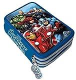 Avengers Marvel astuccio Triplo 3 zip accessoriato scuola Giotto è Fila