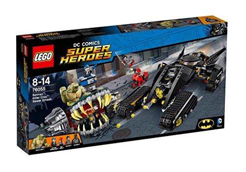Preisvergleich Produktbild LEGO DC Universe Super Heroes 76055 - Batman™: Killer Crocs™ Überfall in der Kanalisation