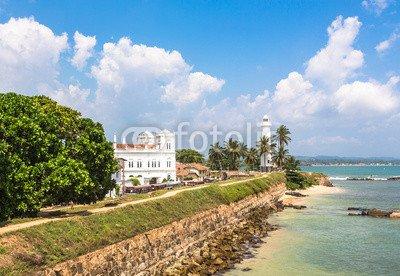 "Alu-Dibond-Bild 100 x 70 cm: ""Galle fort, Sri Lanka"", Bild auf Alu-Dibond"