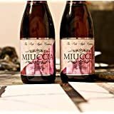 Sidra de lujo Miuccia - 2 Botellas de Espumante Rosa