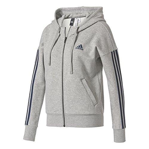 Sweatshirt für Damen, Grau (Brgrin/Maruni), XS ()