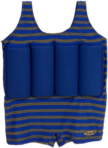 Beverly Kids Jungen UV Schutz Bojen-Badeanzug Cote D'azure, blau/ grün, 92, 20040