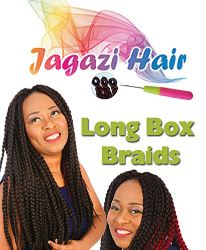 Jagazi's tressage. tresse meche aux deux teint. Extensions de cheveux. meche aux deux teint. Trendy Ombre 2 Tone Braid by JAGAZI. 100grams, 16 inches, Black on Brown. Like X-Pression, Xpression Braiding. Expression. (This is not x-pression braid)