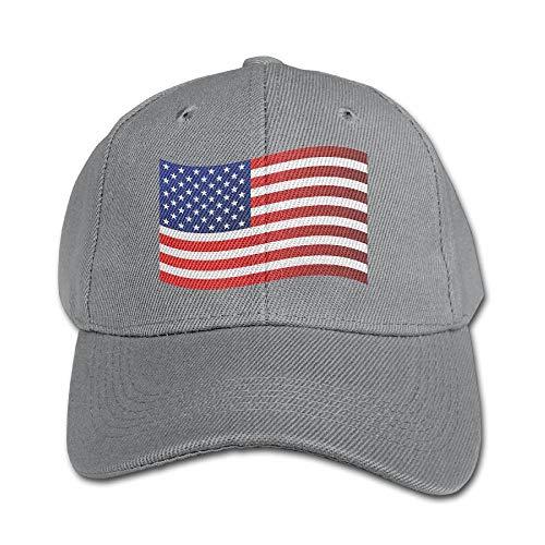 FAVIBES USA Falg Reine Farbe Baseball Cap Baumwolle verstellbare Kid Boys Girls Hat