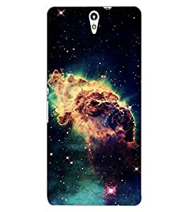 ColourCraft Printed Design Back Case Cover for SONY XPERIA C5 ULTRA DUAL