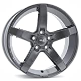 Brock B35 titan-metallic lackiert 7,5x17 ET45 5.00x108.00 Hub Hole 72.60 mm - Alu felgen