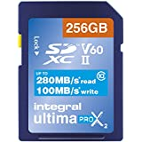 Integral UltimaPro Video Speed V6064GB 280/100Mb/s uhs-ii X2SDXC Speicherkarte 256 GB