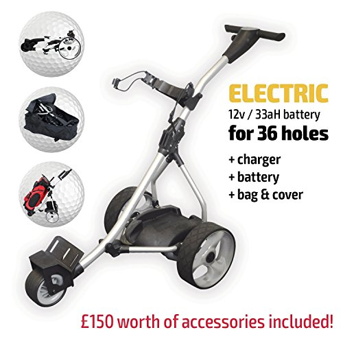 CHEAPEST ELECTRIC GOLF TROLLEY UK