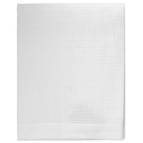 Telo bagno zucchi solotuo in tela nido d'ape puro cotone n165 bianco