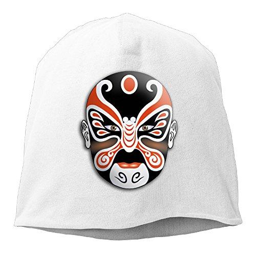 minloo L da uomo e da donna designname walkhats cenere maglia per autunno e inverno White Taglia unica