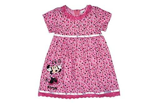 Kleines Kleid Minnie Mouse Süsses Cordkleid Größe 80, Farbe Lila