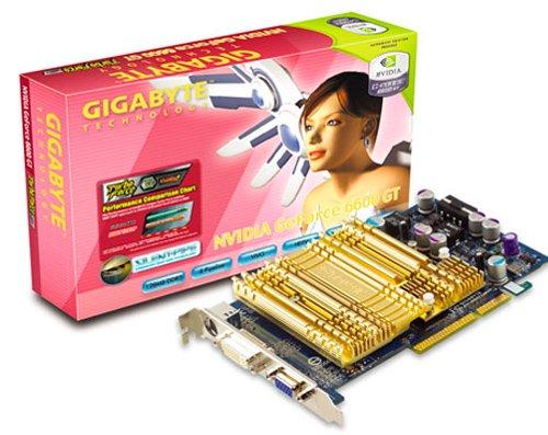 Gigabyte GF 6600GT+HSI 128MB DDR3 128BIT AGP Grafikkarte