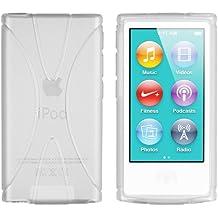 Mumbi X - Carcasa para Apple iPod Nano 7th Generation, color blanco transparente