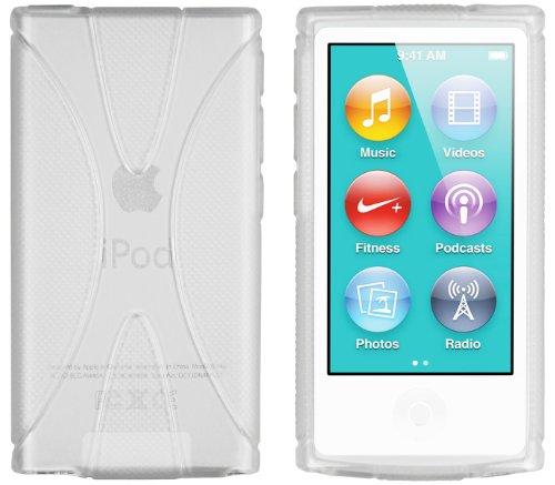 mumbi X-TPU Silikon Hülle iPod Nano 7G Schutzhülle (7. Generation) transparent weiß