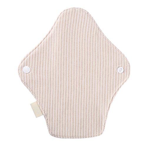 Waschbare Menstruation Pad, wiederverwendbare Frauen Slipeinlagen Damenbinde Tuch Menstruation Pad -