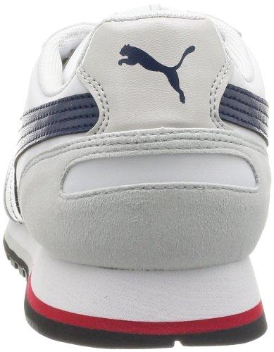 Puma St-runner Jr Turnschuhe Neu Kinder Schuhe Grau (white-insignia blue 02)