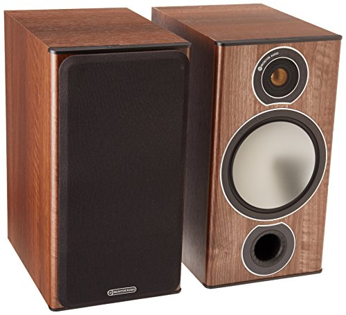 ALTAVOCES MONITOR AUDIO BRONZE 2 NOGAL PAR
