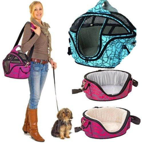 IATA Hundetasche Hundeflugtasche Flugbox Tasche Flugkabine Hunde Flugtasche 40 x 33 x 30 cm