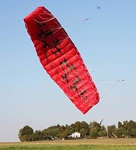 Kite cerf-volant Aile à caissons Inferno 4-lignes