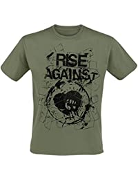 Rise Against Tape T-Shirt olive M