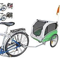 PAPILIOSHOP SNOOPY Remolque y carrito para el transporte de perro perros mascota por bici bicicleta carro bicicletas.
