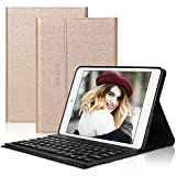 D DINGRICH Tastatur Hülle für ipad Mini 5, ipad Mini 4, ipad Mini 3, ipad Mini 2, ipad Mini 1- Smart Cover- Wireless Bluetoot