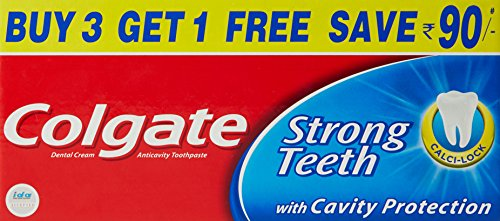 Colgate Dental Cream - 200 g (Buy 3 Get 1 Free)