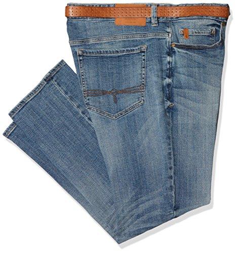 s.Oliver Big Size Herren Straight Jeans Blau (Blue Denim Stretch 55Z4)