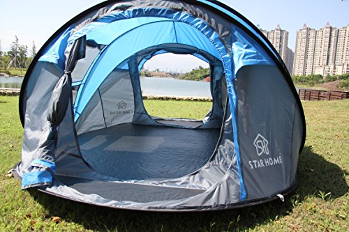 STAR-HOME-Seconds-Pop-up-Quick-opening-Tents-3-4-Person