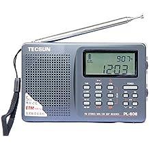 Radar® Tecsun PL-606 Digital PLL Portable Radio FM Stereo/LW/SW/MW DSP Receiver (gray)