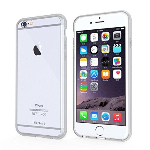 iPhone 6S Plus Coque - iHarbort® iPhone 6 Plus / iPhone 6S Plus case Soft Air pare-chocs couvrir avec chocs fonction pour l'iPhone 6 6S Plus 5.5 pouces (Noir) Transparent