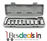 #6: Style Eva 10Pcs Socket Wrench with L Set Sleeve Spanner Car Repair Tool Kit Hand Tools Set