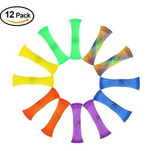 ADHS-Fidget Spielzeug (12 Packungen), CAVN sensorische Fidget Spielzeug lindern, Stress und Angst für Kinder und Erwachsene mit Autismus und ADHS (Therapeuten empfohlen!)