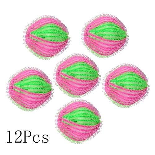 Waschender Ball-Wäscherei-Ball-Starke Reinigung Für Haustier-Federn und Haar Befestigt zur Kleidung Wiederverwendbares Perfektes Geschenk 12PCS Multifunktions -