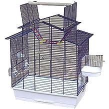 XXL Jaula Para Pájaros Periquito Canarios con Patio & Accesorios