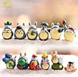Channeltoys - Anteil 12pcs mini figuren Totoro - PVC - 2/3 cm - Neu - generic