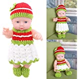 Vodool Full Plastic Home Simulation Baby Changing Clothes Bathing Dolls Dolls Toys