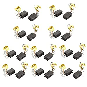 51ve1D1BdaL. SS300  - sourcingmap 20pcs 13x9x6mm Cepillos de carbono CB-419 para amoladora angular para taladro eléctrico
