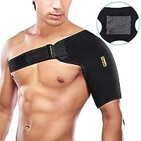 Verstellbare Schulterbandage Neopren Schulterstütze für Verletzungsprävention und Genesung, Schulterstabilität... preisvergleich bei billige-tabletten.eu