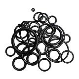 IPOTCH Kit Set di Anelli O-Ring per Immersione BCD Manometri per Serbatoi - Nero, 36 Pezzi
