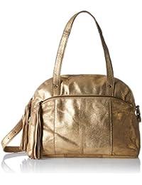 PIECES Damen Pcmylisia Leather Bag Henkeltasche, 15 x 28 x 38 cm